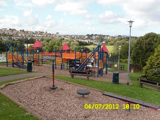 Hoburne Devon Bay: the childrens play area