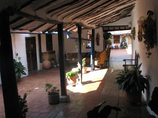 Hotel Casa Del Marques De Bahiachala: Casa del Marques center courtyard