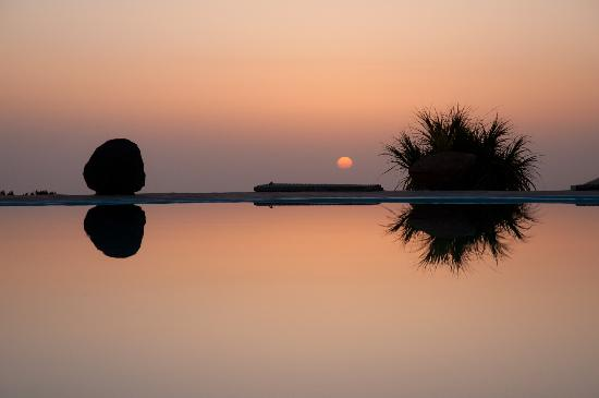 Hacienda El Rancho: sunset