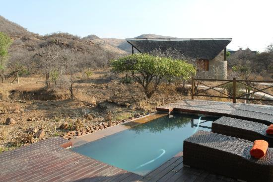 Pilanesberg Private Lodge: Overlooking the reserve