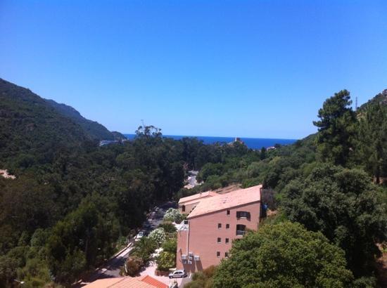 Hotel Colombo: vue de ma chambre
