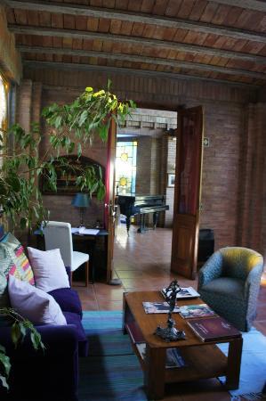 Casa Margot - Hotel Champagnerie: Antesala a las habitaciones