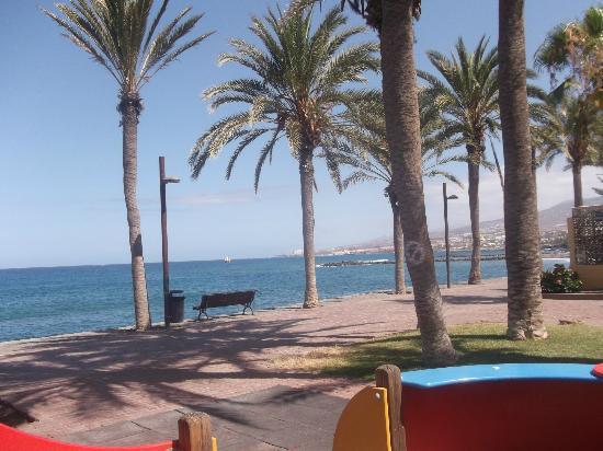 Aparthotel Parque de la Paz: Park near the beach