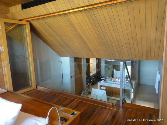 Casa de La Flora: Наша вилла duplex grand pool villa (1 bedroom and living room with sea view on 2nd floor)