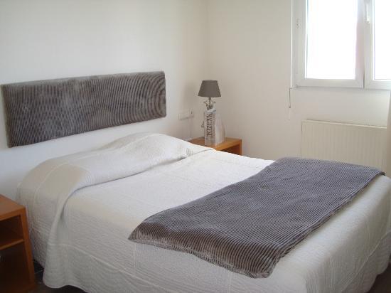 Hotel Des Bois : modern ausgestattete Zimmer