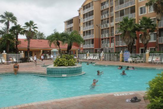 pool area picture of westgate town center resort spa. Black Bedroom Furniture Sets. Home Design Ideas