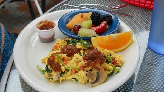 Zorro's Cafe & Cantina: Breakfast