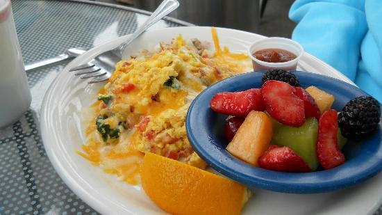 Zorro's Cafe & Cantina : Breakfast