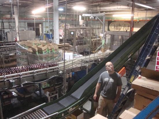 Shipyard Brewing Company: Bottling Area
