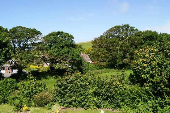 The Old Barn: View from room towards village