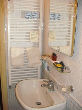 Hotel Jolanda: Bathroom