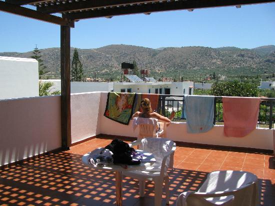 Angelika Aparthotel: Balcony