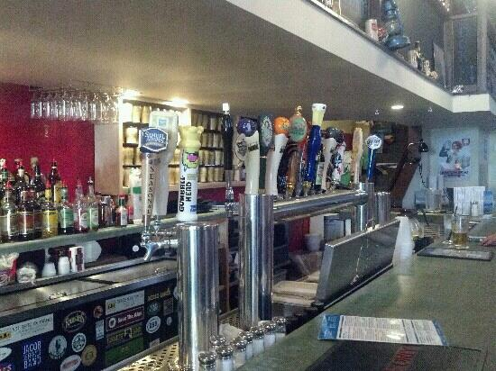 Constant Spring: 18 beers on tap. great variety