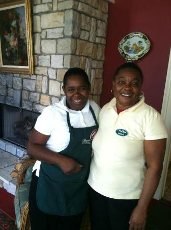 Brigadoon Bed and Breakfast: Ann Marie and Dotline the best maids and cooks! Love Ya'll