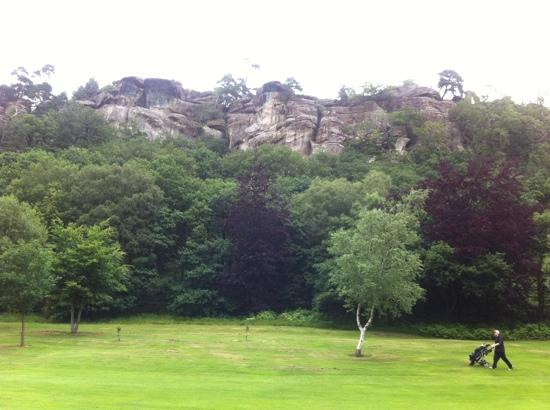 Hawkstone Park Hotel: great views whilst you play.