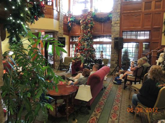 1 hotel in Pigeon Forge!! - Picture of The Inn at Christmas Place ...