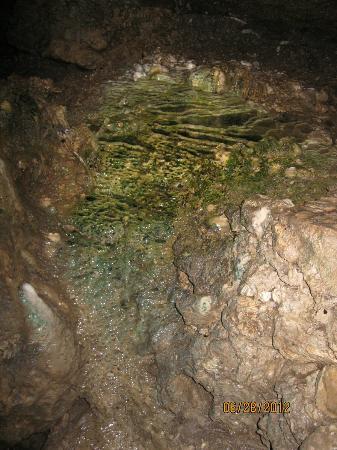 Cascade Caverns: inside the cave 