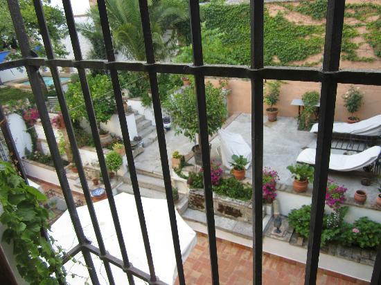 Carmen Del Cobertizo: The view from our room.