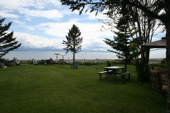 The Alaska Beach House: View from just outside of the room