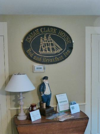 Sea Meadow Inn at Isaiah Clark House: Entrance