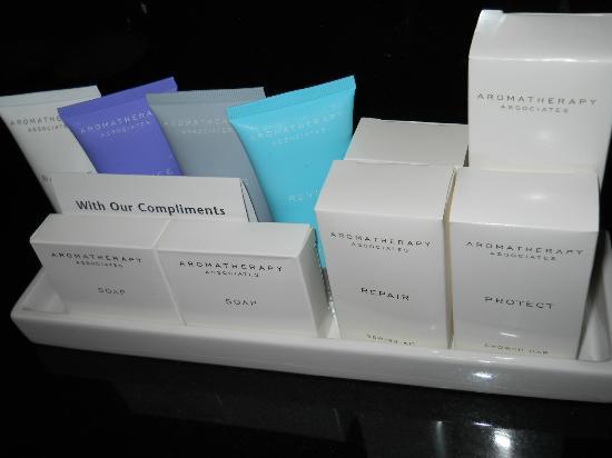 Crowne Plaza London Kensington: Bathroom amenities in suite