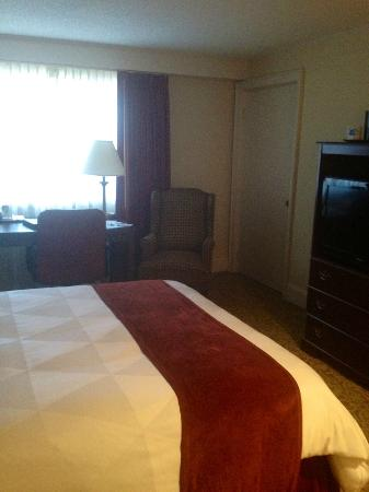 Ramada Seekonk Providence Area: View from bathroom