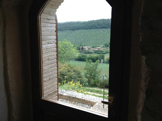 Pianciano: View from our living room. 