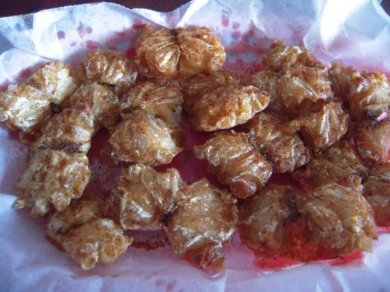 Deal Island, Мэриленд: Outrageously awesome Crab Bites (Nuggets)