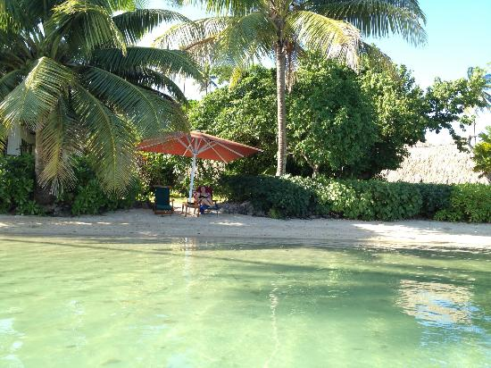 Nukubati Private Island: Lazing by the Pacific Ocean