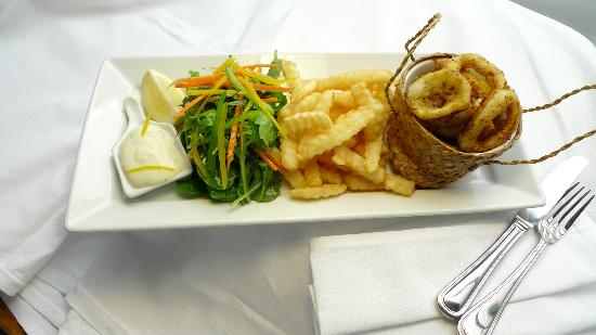 MLC Cafe & Bar: Calamari All Day Menu