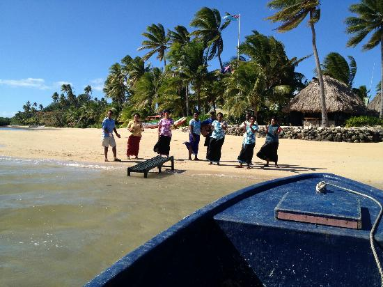 Nukubati Private Island: Traditional Fijian Welcome