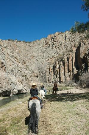 Geronimo Trail Guest Ranch: Taylor's Creek Canyon