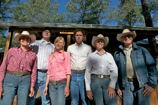 Geronimo Trail Guest Ranch: Geronimo Trail Guest Ranch Staff 