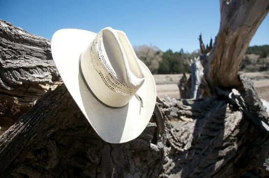 Geronimo Trail Guest Ranch: My Hat