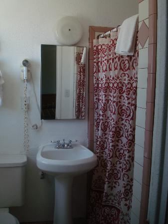 Desert Inn: Standing Shower Bathroom