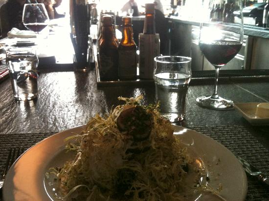 Colicchio & Sons : Salad with walnuts . . .