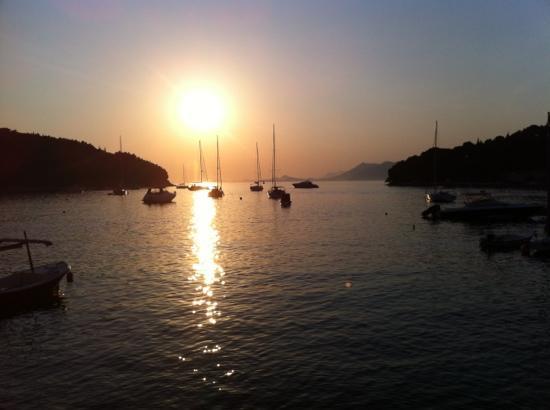 Admiral Grand Hotel : sunset