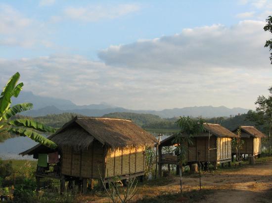 Sayaboury, Laos: Huts