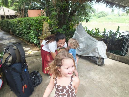 Baan Nam Ping Riverside Village: Saying goodbye :-(