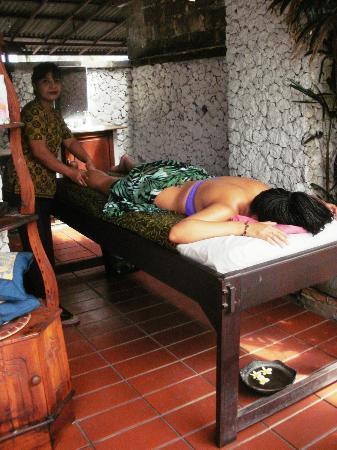 Balisani Padma: Spa Massage area