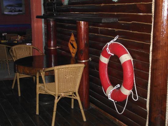 Corto Bar Restaurant: Vue intérieure