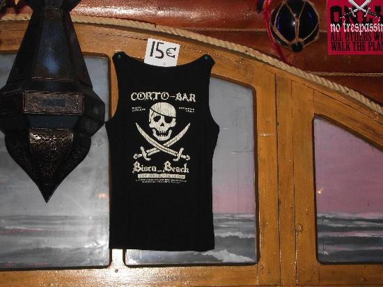 Corto Bar Restaurant: Joli tshirt