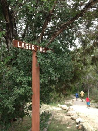 Yogi Bear's Jellystone Park Camp-Resort Hill Country: laser tag $7 per person. sign up early.