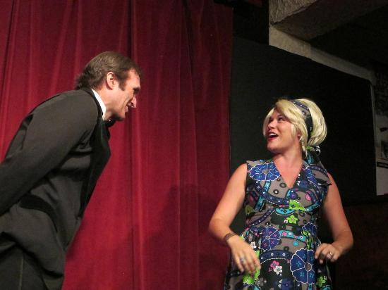 Glenwood Vaudeville Revue: Scene from Laugh In with Dick and Goldie