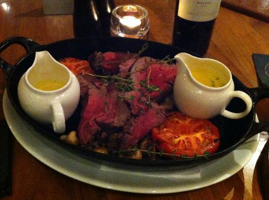 The Restaurant Bar and Grill - Glasgow: Chateaubriand for Two