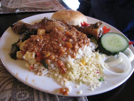 Ravineside Lodge: Meal