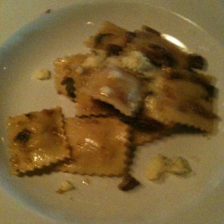Dockside Bistro : Butternut Squash Ravioli