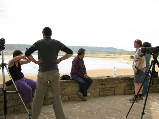 Beitu Centro de Turismo Rural Albergue: Observatorio de aves de la Laguna de Pitillas
