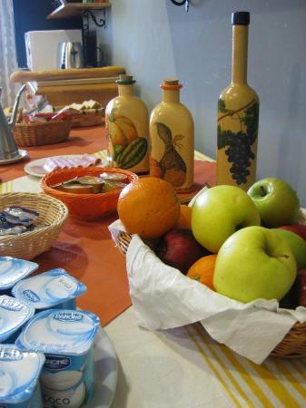 Beitu Centro de Turismo Rural Albergue: Productos para el desayuno