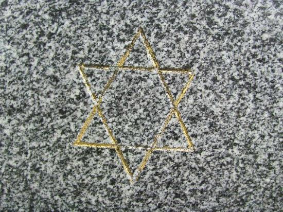 Jewish Cemetery Klatovy: Star of David